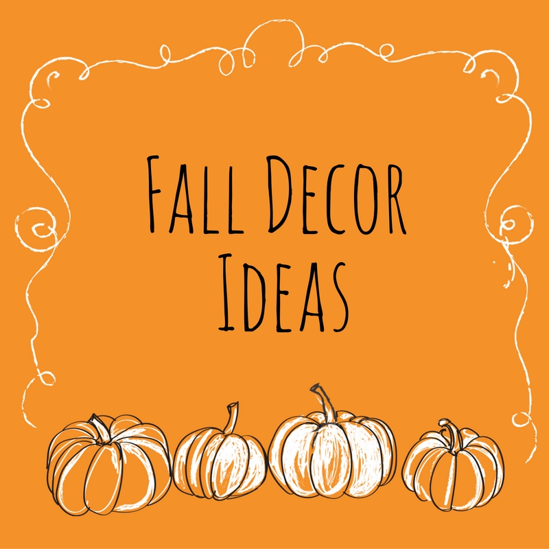 Fall Decor for Your House or Apartment