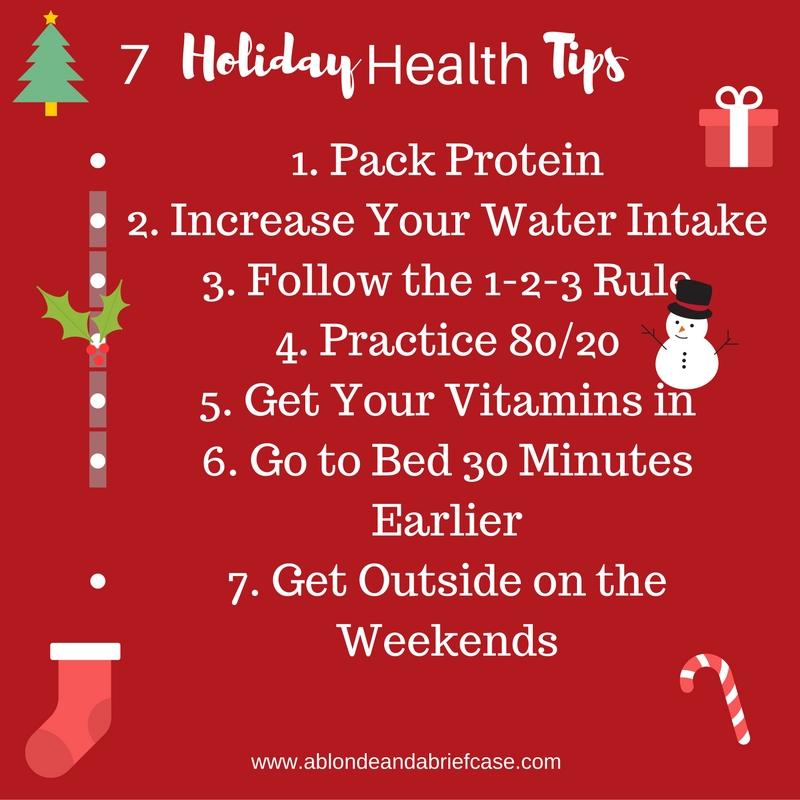 7 Holiday Health Tips