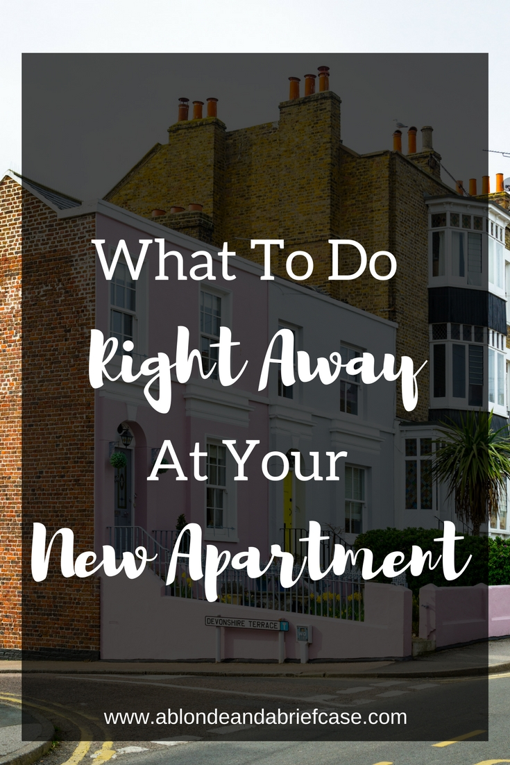 Move into a New Apartment