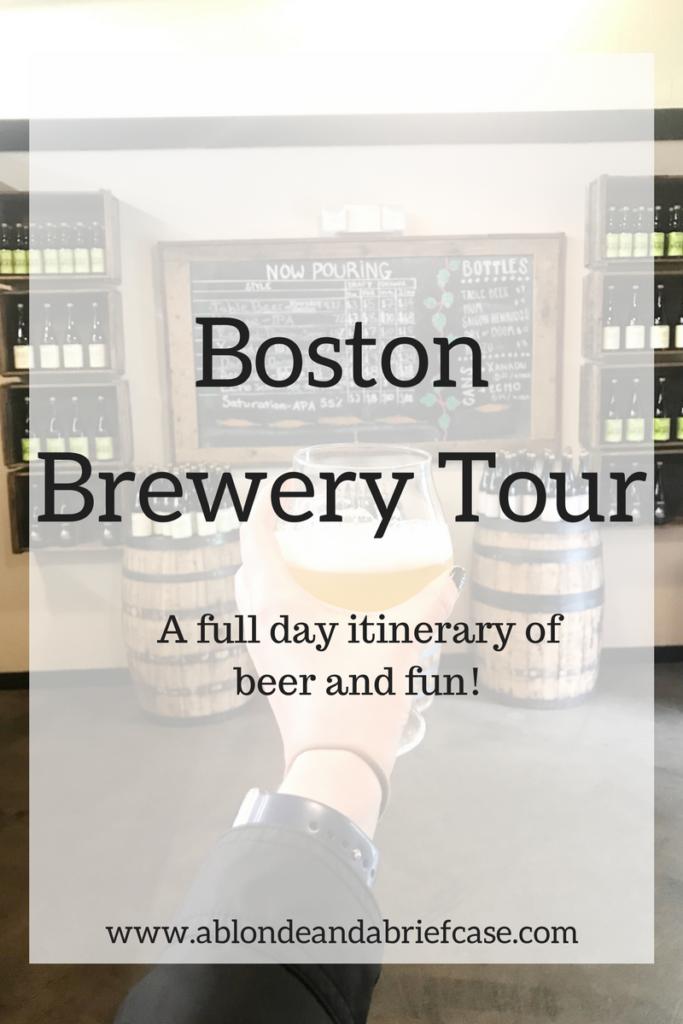 Boston Breweries Tour