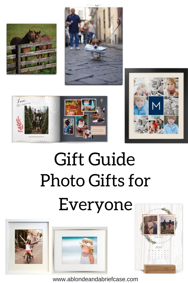 Photo Gifts for Everyone on Your List