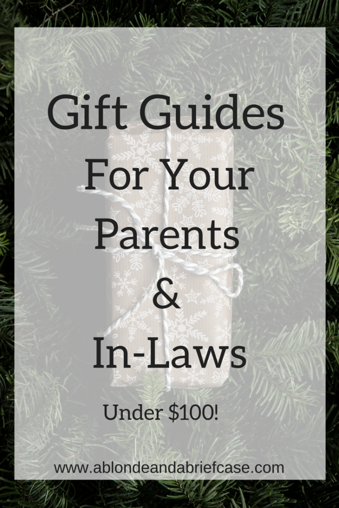 Gift Guides for Your Parents