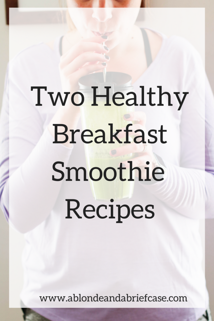 Health Breakfast Smoothie Recipes