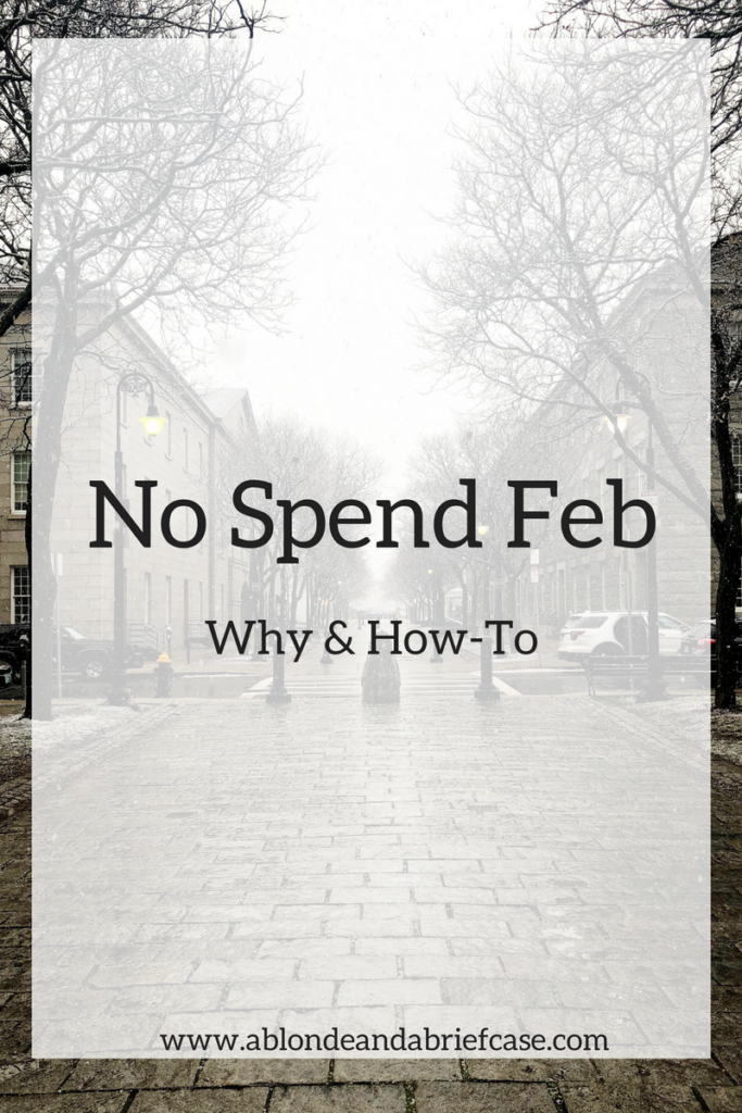 No Spend Feb